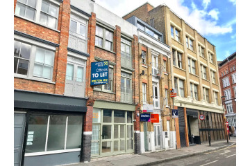 Commercial property exterior, on 26 Cowper Street, Shoreditch let by Anton Page