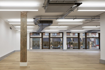 Architectural Photography of Shoreditch Office, by London Architectural and Interiors photographer, Matt Clayton