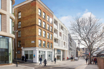 Commercial property exterior view on 66 Turnmill Street, Farringdon, London let by Anton Page