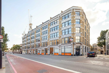 River House, Commercial property exterior facade on 143-145 Farringdon Road, Clerkenwell, let by Anton Page