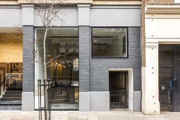 Commercial property exterior of Rivington Studios, 1 Bath Place, Shoreditch, let by Anton Page