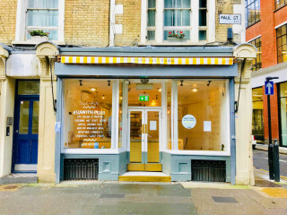 Commercial property exterior on 54 Paul Street, Shoreditch, London let by Anton Page