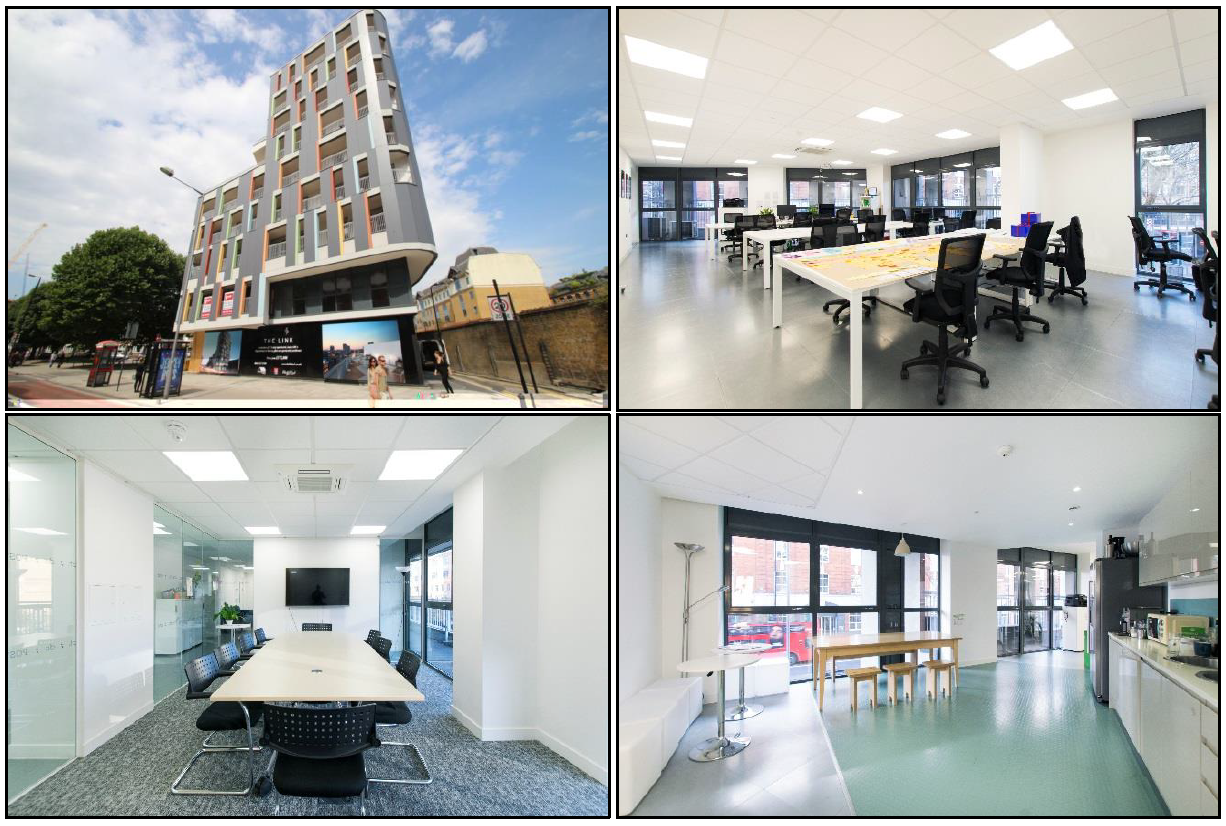 Photo collage of a commercial property for sale on Wellesley Terrace, London let by Anton Page