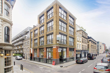 Willow House, commercial property exterior on 72-74 Paul Street, London let by Anton Page