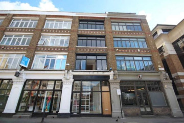 Commercial property exterior, 94 Leonard Street, Shoreditch, London let by Anton Page