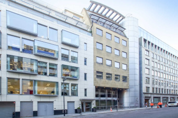 Commercial property exterior, 5th floor, 28-30 Workship Street, Shoreditch, London let by Anton Page