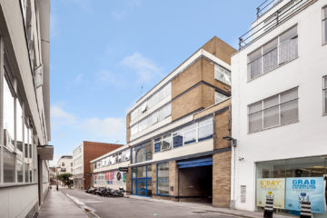 Commercial property exterior, 1 Onslow Street, London let by Anton Page
