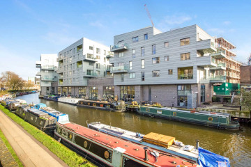 Canal side commercial property on 10D Branch Place, Hoxton, London let by Anton Page