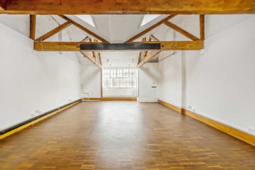 Large office with wooden flooring on 14 & 14A Clerkenwell Green, Clerkenwell, London let by Anton Page