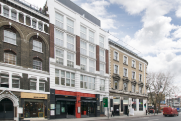 Commercial property exterior on 89 Great Eastern Street, London let by Anton Page