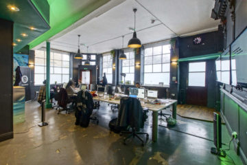 Shared working office of a commercial property on 37 Central Street, Clerkenwell let by Anton Page