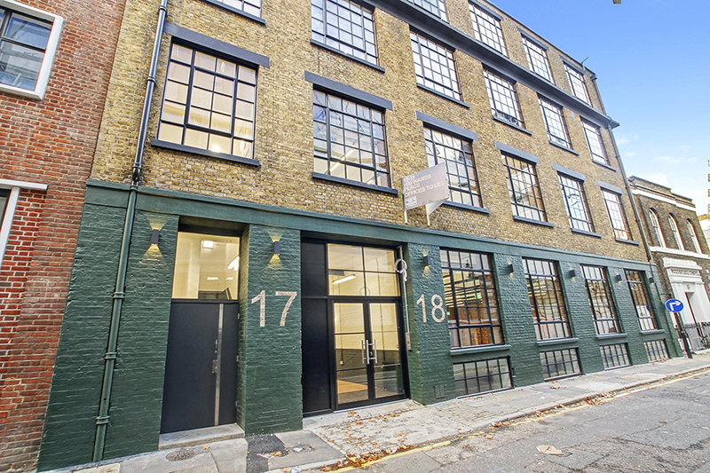 17-18 Haywards Place, Clerkenwell, London EC1